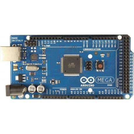 Arduino MEGA 2560 R3 (ATmega2560 + ATmega16u2) + Cablu