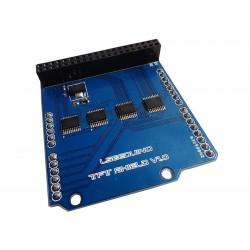 "Shield pentru ecrane LCD TFT 2.4"" 3.2'' 4.3"" 5.0"" 7.0"" arduino uno"