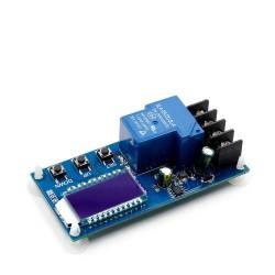 Modul incarcare acumulatori 30A 6-60V cu autoprotectie si ecran afisaj OLED
