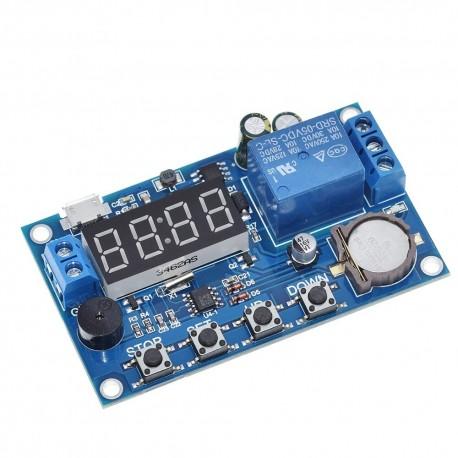 Modul programabil timer cu optocuplor si afisaj LED DC 5.0V ~ 60V DC 10A