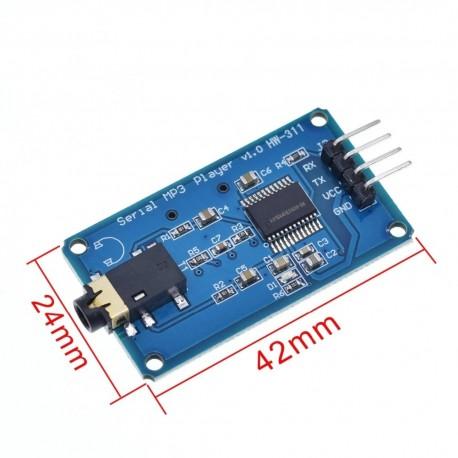 Modul sunet MP3 YX5300 UART Control Serial