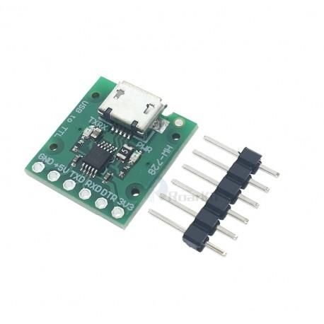 Modul convertor CH340E USB TTL Serial 5V / 3.3V