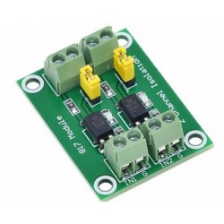 Convertor 3.6-30V PC817 2 canale cu optocuploare