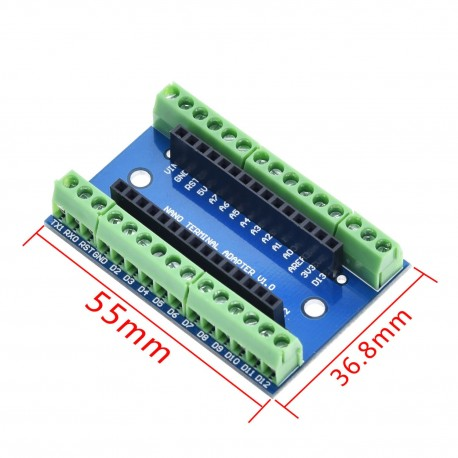 Shield terminal placa expansiune pentru arduino NANO 3.0