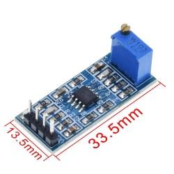 Amplificator semnal LM358 5V-12V