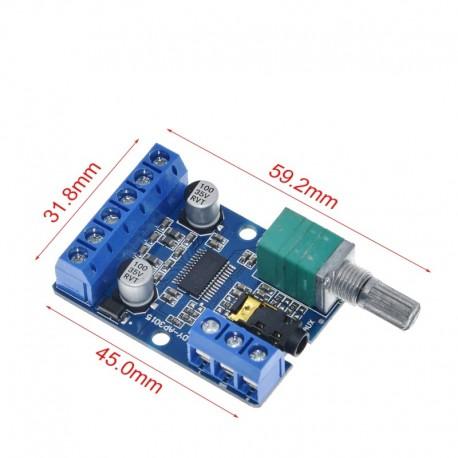 Aplificator digital DY-AP3015 DC 8-24V 30W * 2 Clasa D Stereo