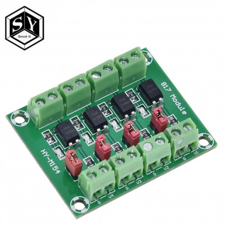 Convertor 3.6-30V PC817 4 canale cu optocuploare