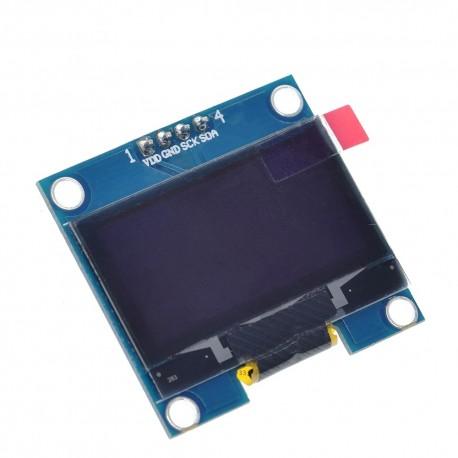 "Ecran 1.3"" LCD OLED I2C IIC SPI 128X64"