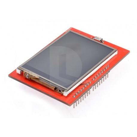 """Ecran LCD TFT 2.4"""" cu touch screen pentru arduino"""