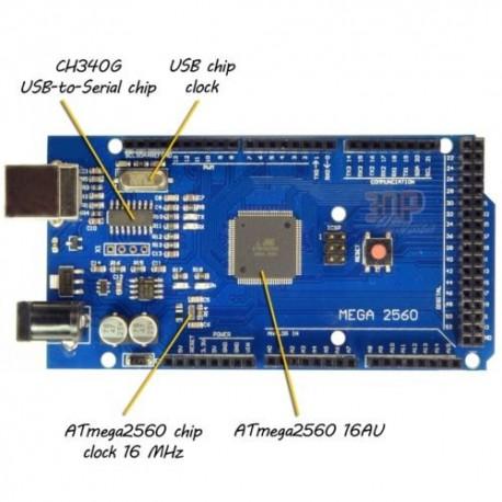 Arduino mega 2560 Clona cu CH340