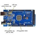 Arduino compatibila mega 2560 clona cu chipset CH340