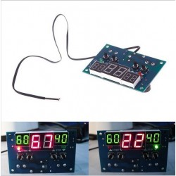 Termostat digital cu 3 afisaje cu digiti 12v