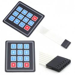 Tastatura keypad matrix 12 taste rezistenta la apa