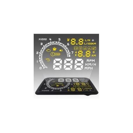 "HUD Head Up Display Proiector Parbriz 5.5"" (inch)"