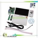 """Ecran 7"""" display LCD TFT cu touch screen HDMI VGA pentru Raspberry Pi"""