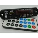 Modul mp3 cu slot pentru SD Card USB Radio FM si Bluetooth