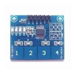 Tastatura digitala cu 4 butoane capacitiva TTP224