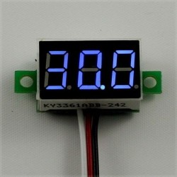 Voltmetru digital LED DC 3-30V 0,36""
