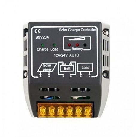 Regulator controler panouri solare 20A 12V/24V