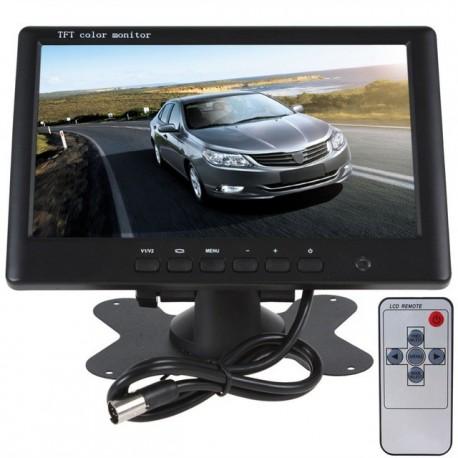 "Monitor 7"" LCD rezolutie 800 x 480 PAL si NTSC 12V 2 intrari AV"