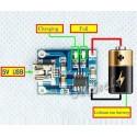Incarcator TP4056 mufa mini USB incarcare acumulator Litiu 5v 1A