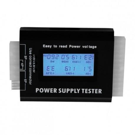 Tester cu display LCD pentru surse PC PC 20/24 Pini ITX ATX BTX