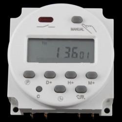 Priza programabila cu temporizator si ecran LCD 220V