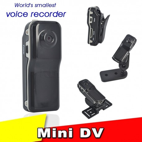 Mini camera dvr spion MD80 pentru bicicleta motocicleta inregistrare pe card