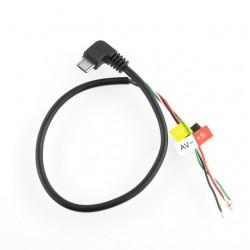Cablu FPV AV pentru Helmet Camera SJ4000 DSLR si BOSCAM