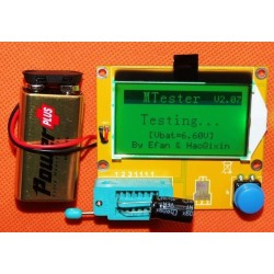 Tester componente ESR metru digital cu LCD