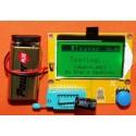 Tester componente ESR metru digital cu LCD 128 x 64 pixeli