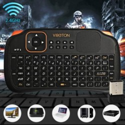 Telecomanda wireless cu tastatura mouse accumulator VIBOTON