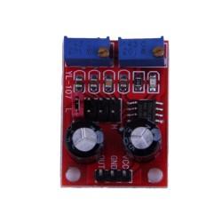 Generator de semnal dreptunghiular reglabil NE555