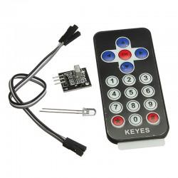 Kit telecomanda cu receptor si transmitator infrarosu