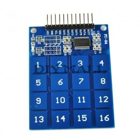 Tastatura digitala cu 16 butoane capacitiva TTP229