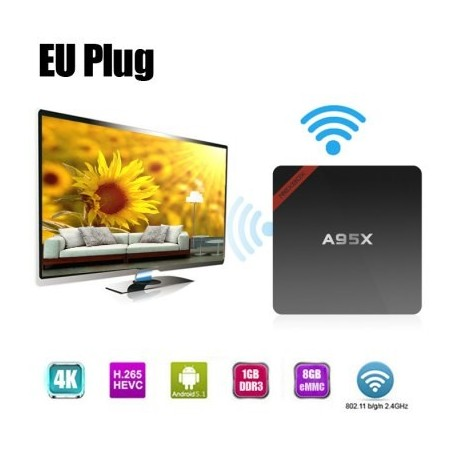Android TV media player NEXBOX A95X Quad Core WIFI 64 bits
