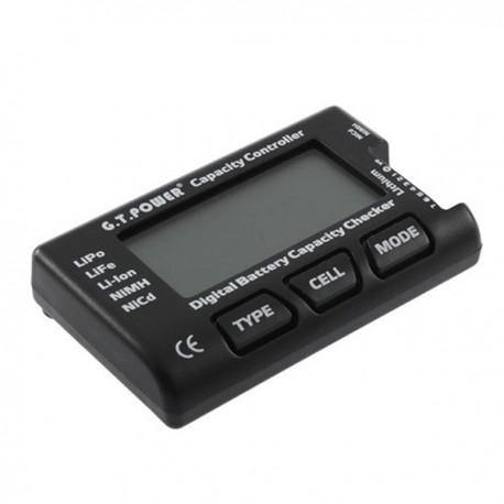 Tester acumulatori si baterii LiPo LiIo NiMH Nicd cu LCD