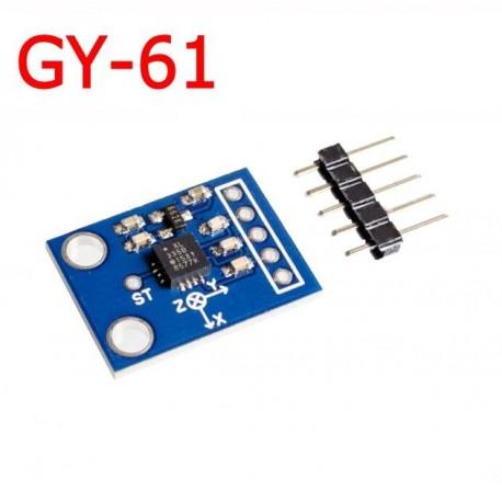 Modul accelerometru ADXL335 GY-61 3-5V 3 axe iesire analogica