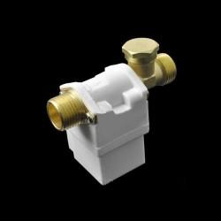"Electrovalva solenoid DC 12V 1/2"" pentru apa aer gaz normal inchis"