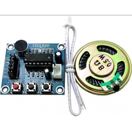 Modul sunet si voce ISD1820 cu inregistrare si difuzor