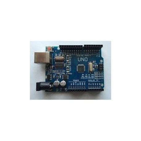 Arduino UNO CLONA cu ATmega328p si CH340 + Cablu usb compatibila cu Arduino uno