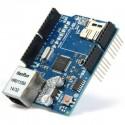 Shield retea W5100 Ethernet pentru Arduino uno, mega, due