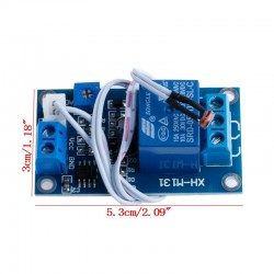 Modul senzor lumina cu fotorezistor si releu 5V DC 220V AC XH-M131