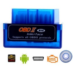 Interfata diagnoza tester auto bluetooth ELM327 mufa OBD 2