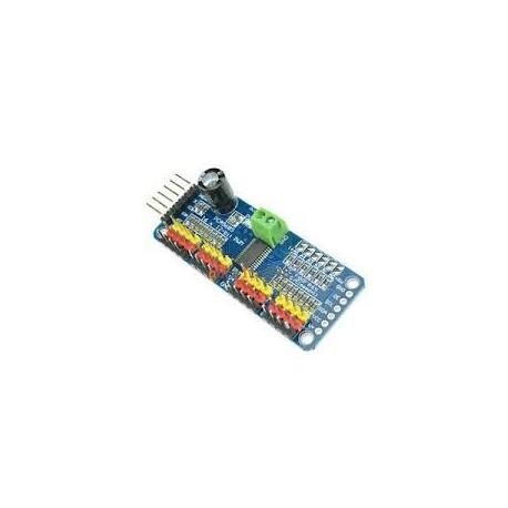 Driver de Servo Motoare PCA9685 PWM I2C 16 canale 12 biti