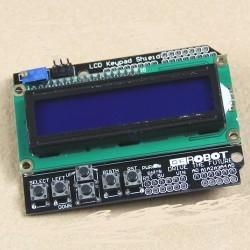 Ecran lcd 16X2 caractere cu taste KEYPAD backlight blue pentru arduino