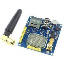 Modul GSM GPRS A6 cu antena PCB albastru