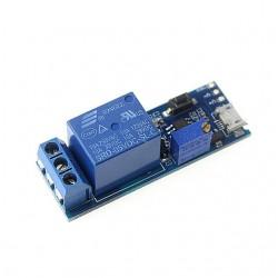 Modul 1 releu 5V-30V micro USB cu timer