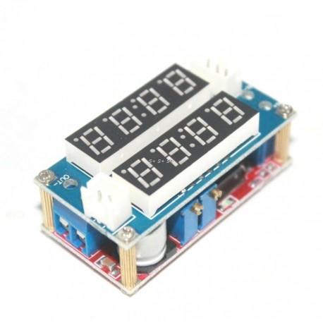 Modul sursa incarcare cu afisaj LED voltmetru si ampermetru TK1210 5A