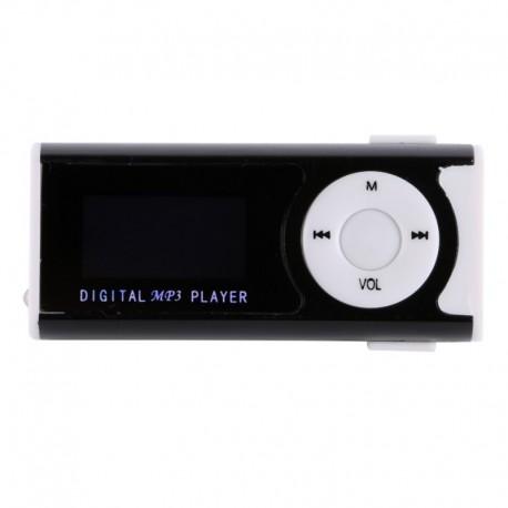 """Mini Mp3 player USB Clip 1.3"""" LCD pentru micro sd pana la 16GB"""